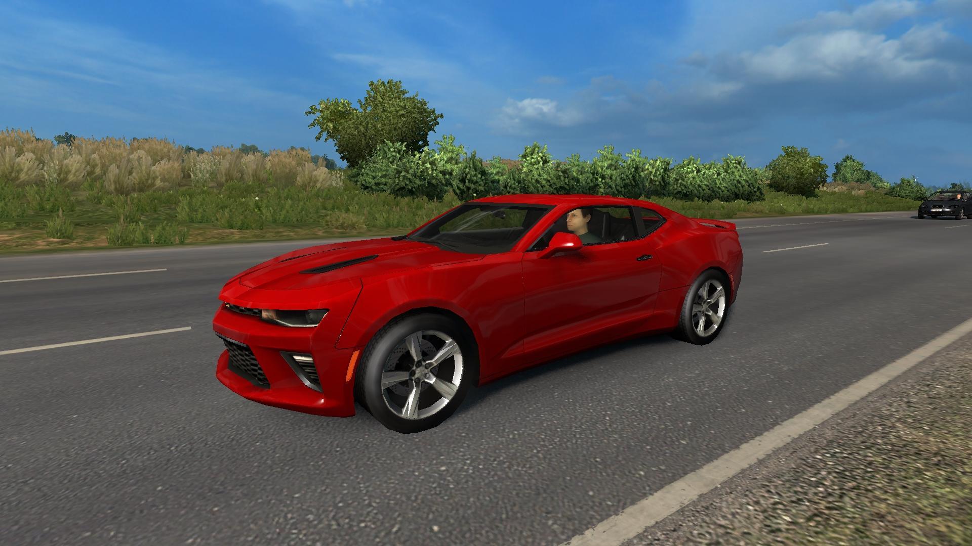 AI TRAFFIC CARS FROM ATS 1 30 MOD - ETS2 Mod