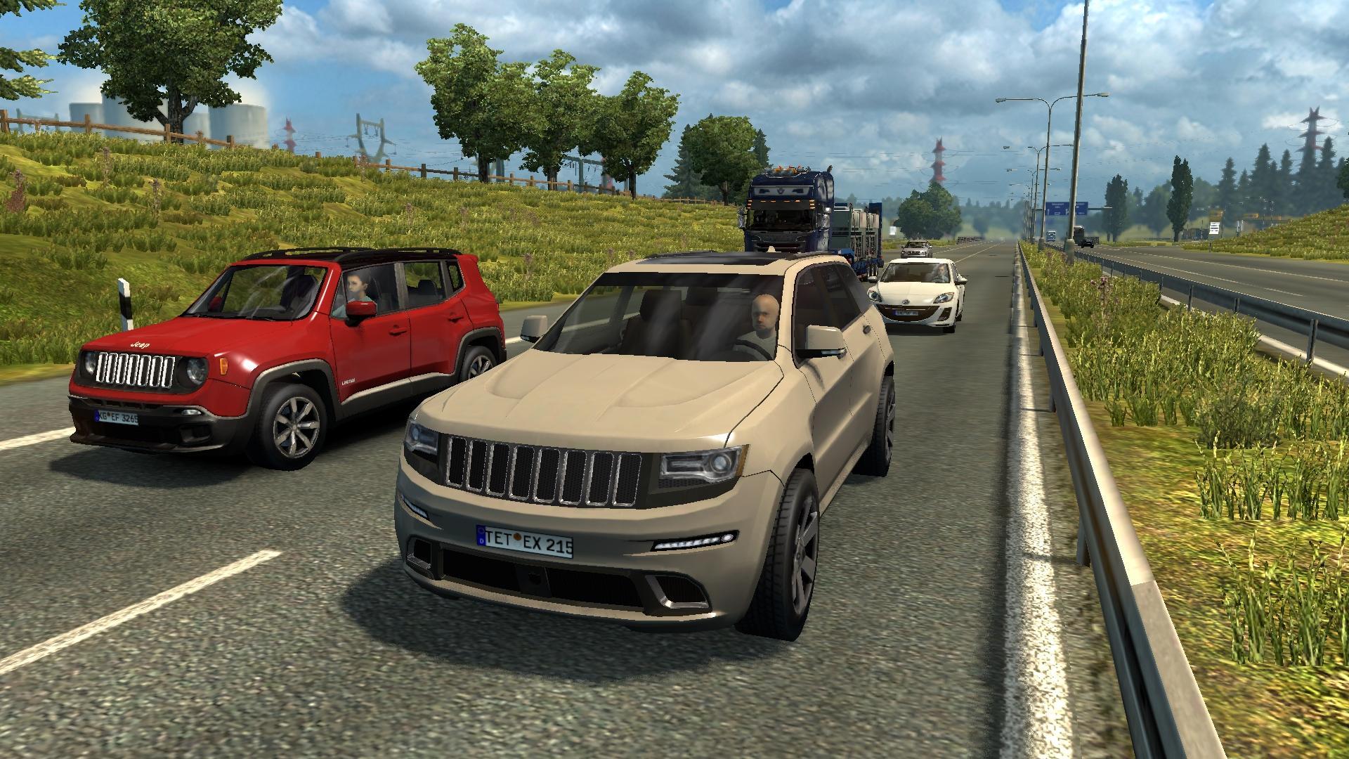 Ai Traffic Cars From Ats 1 30 Mod Ets2 Mod