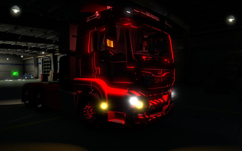 Aq Team Cabin Light 1 30 X Tuning Mod Ets2 Mod