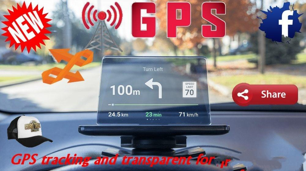 GPS TRACKING AND TRANSPARENT FOR LOOKING GLASS MOD - ETS2 Mod
