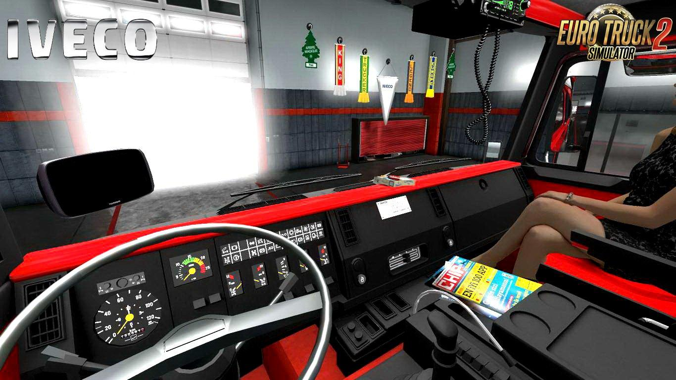 Seat Skins For Trucks >> IVECO 190-38 SPECIAL + INTERIOR V1.4 (1.30.X) TRUCK MOD ...