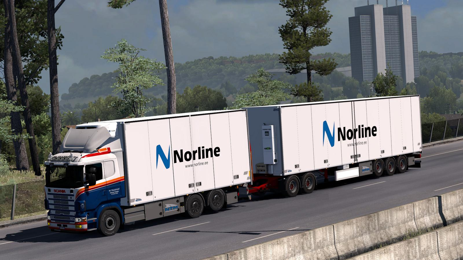 Kraker ntm tandem addon for rjl scania rs r4 v1 3 tuning for 4 box auto in tandem