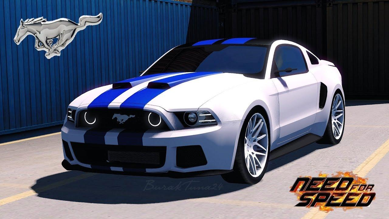 need for speed ford mustang car mod ets2 mod. Black Bedroom Furniture Sets. Home Design Ideas