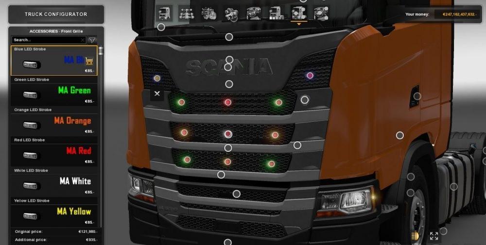 Led Strobe Lights For Trucks >> SMALL BLINKER LIGHT 1.30.2.2 MOD - ETS2 Mod