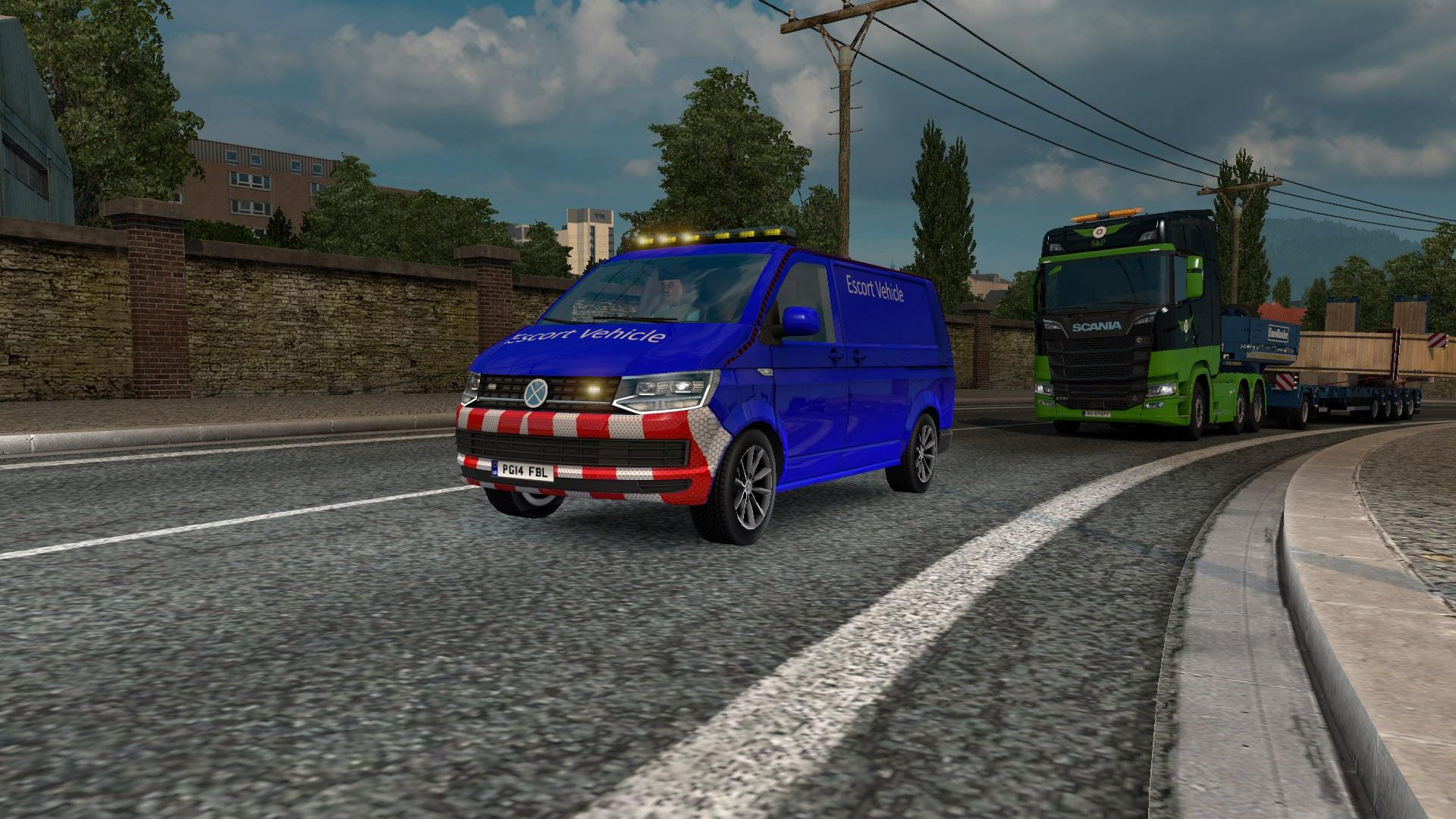 SPECIAL TRANSPORT VW TRANSPORTER T6 SKINABLE BY AZORAX