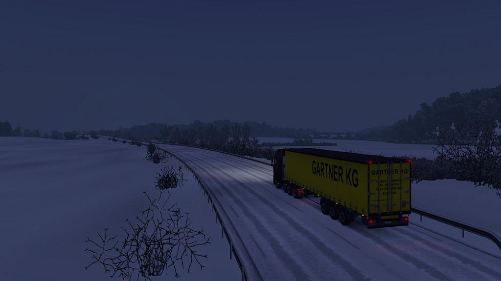 WINTER ADD-ON FOR REALISTIC GRAPHICS MOD V0 9 ETS2 - ETS2 Mod