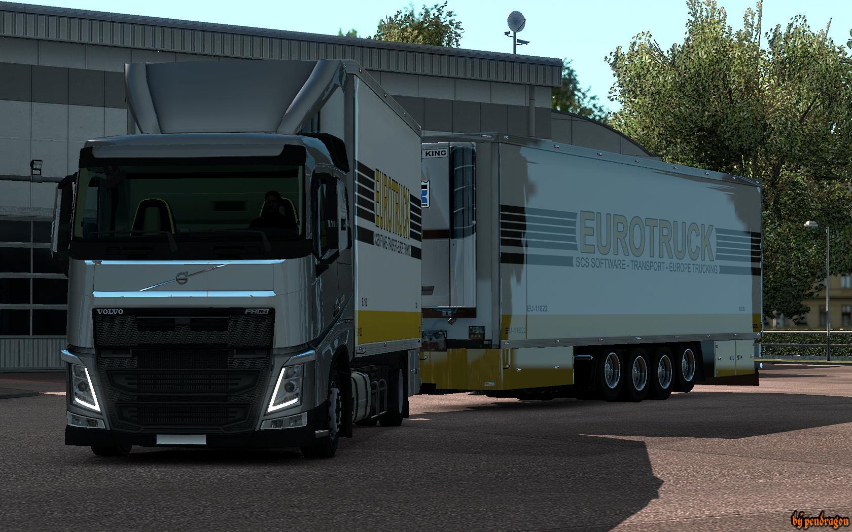 Bdf Addon For Volvo Fh16 2012 V1 4 Tuning Mod Ets2 Mod