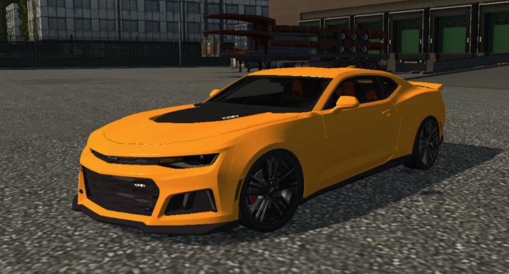 Chevrolet Camaro Zl1 Reworked 1 30 X Car Mod Ets2 Mod