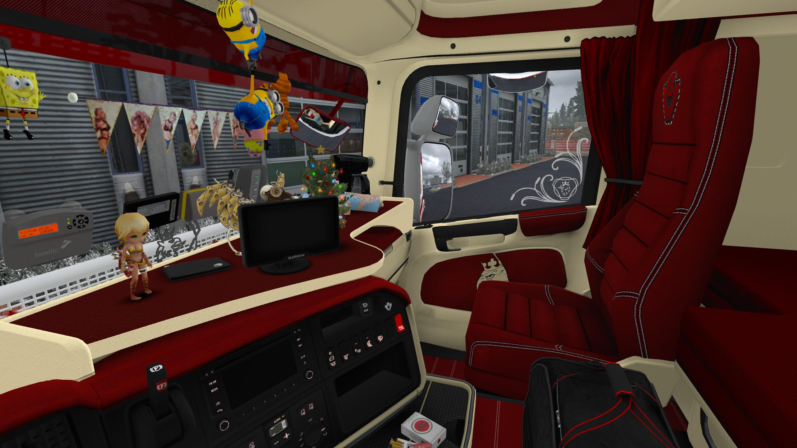 Custom Interior Skin For Rjl Scania R Ets2 Ets2 Mod