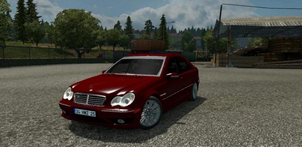 Mercedes Benz C32amg C320 1 26 1 30 Car Mod Ets2 Mod