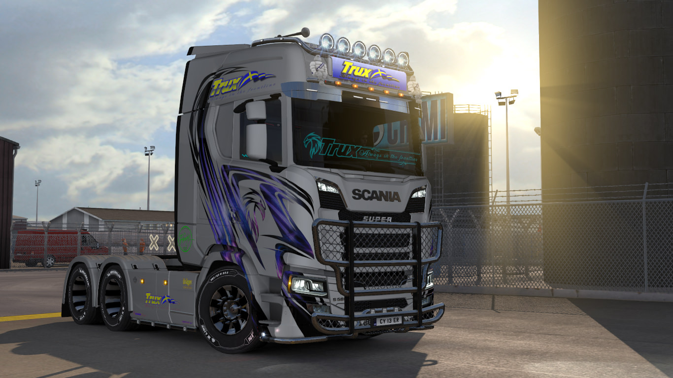 trux paintjobs for scania s r new generation ets2 mod. Black Bedroom Furniture Sets. Home Design Ideas