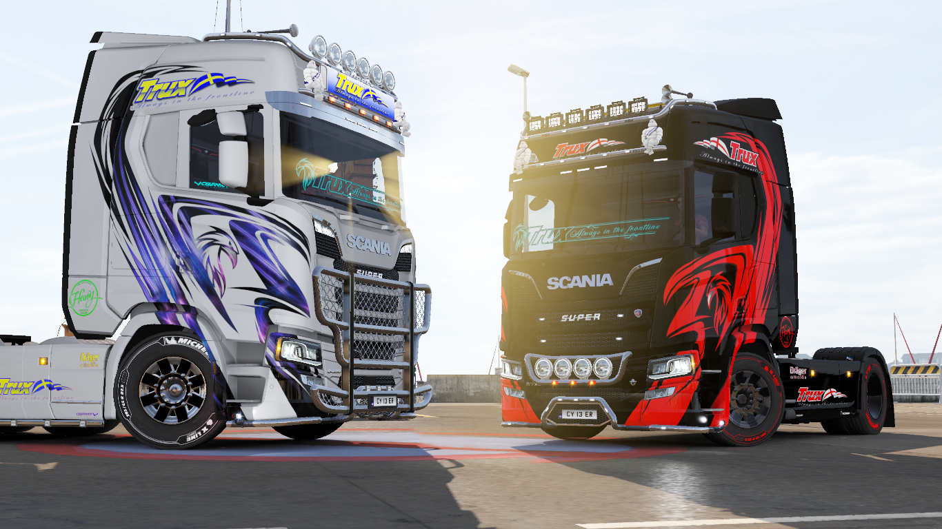 Trux paintjobs for scania s r new generation ets2 mod for New generation
