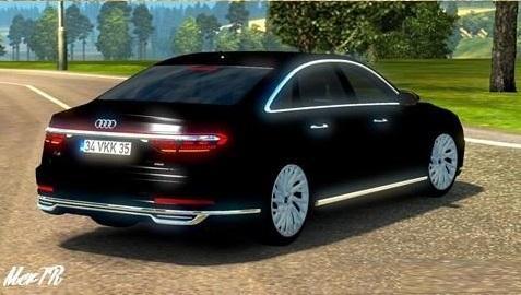 AUDI A8 2018 V1.0 CAR MOD - ETS2 Mod