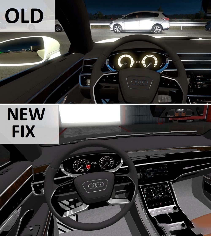 audi a8 long fixed interior car mod ets2 mod. Black Bedroom Furniture Sets. Home Design Ideas