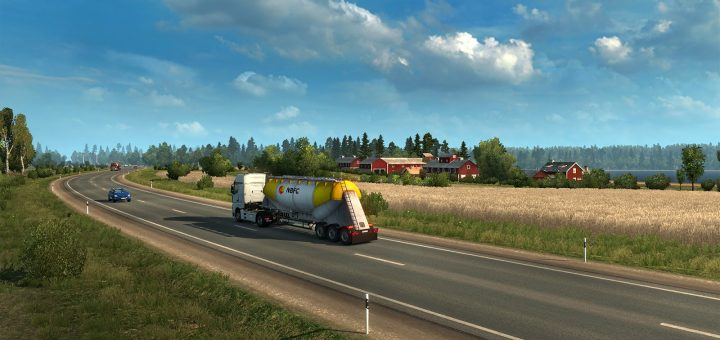 euro truck simulator 2 beyond the baltic sea dlc ets2 mod. Black Bedroom Furniture Sets. Home Design Ideas