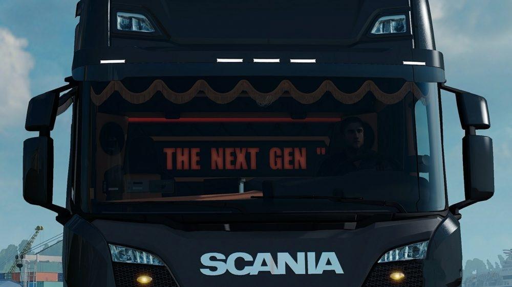 New Diesel Trucks 2018 >> FRONT LIGHTS FOR SCANIA NEXT GEN V1.0 [1.30.X] TUNING MOD - ETS2 Mod