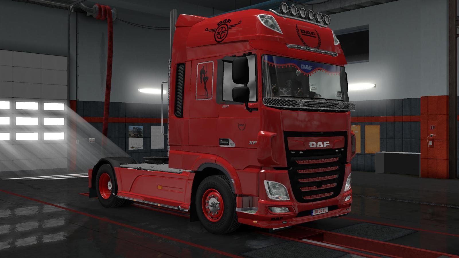 DAF EURO 6 1 30 TRUCK SKIN - ETS2 Mod