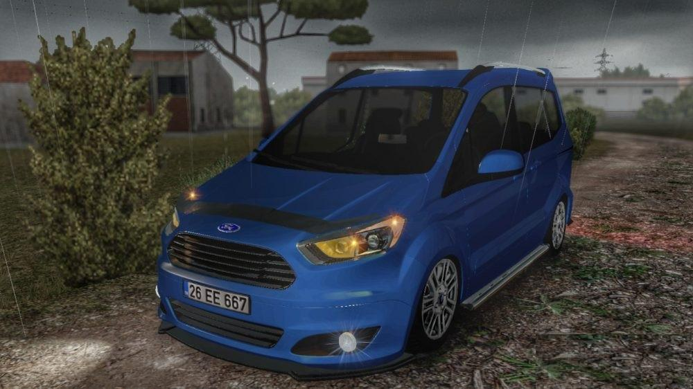 ford tourneo courier car mod ets2 mod. Black Bedroom Furniture Sets. Home Design Ideas