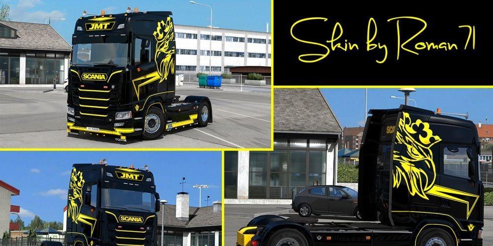 Scania New Generation S Jmt Truck Skin V1 0 Ets2 Mod