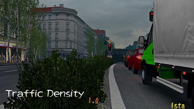 TRAFFIC DENSITY V1 4 1 30 X MOD - ETS2 Mod