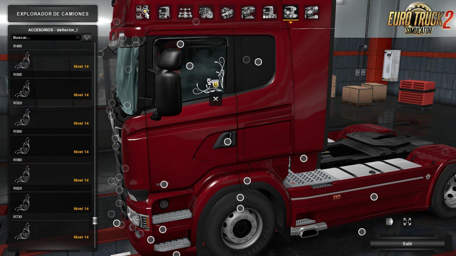 Low Deck Improved Chassis For Rjl S Scania R Amp S R4 P Amp G V1