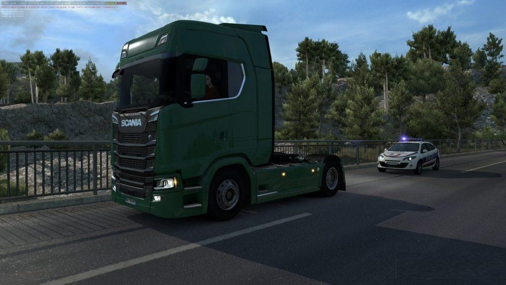 SCANIA 2016 TRAFFIC V1 0 MOD - ETS2 Mod