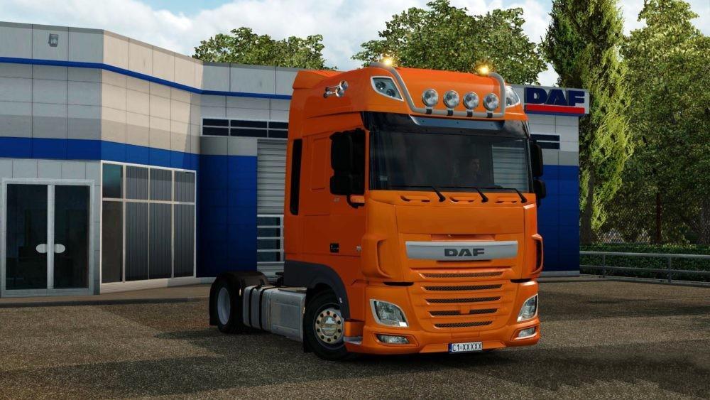 DAF XF EURO 6 – LOW DECK V2 0 1 31 X TUNING MOD - ETS2 Mod