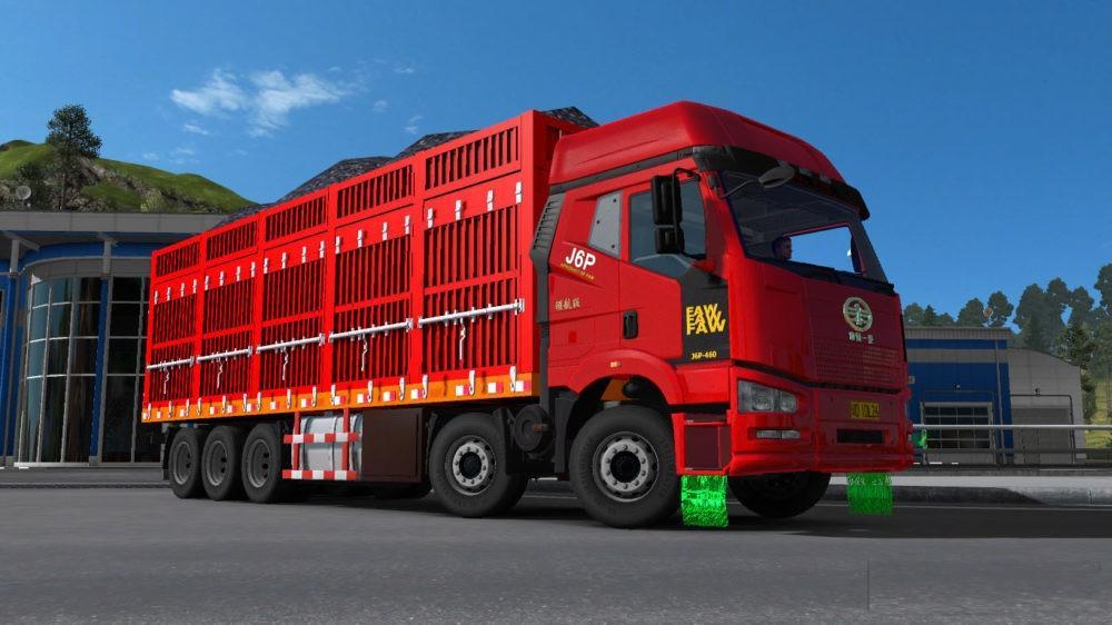 FAW J6 1 31 X ETS2 - ETS2 Mod