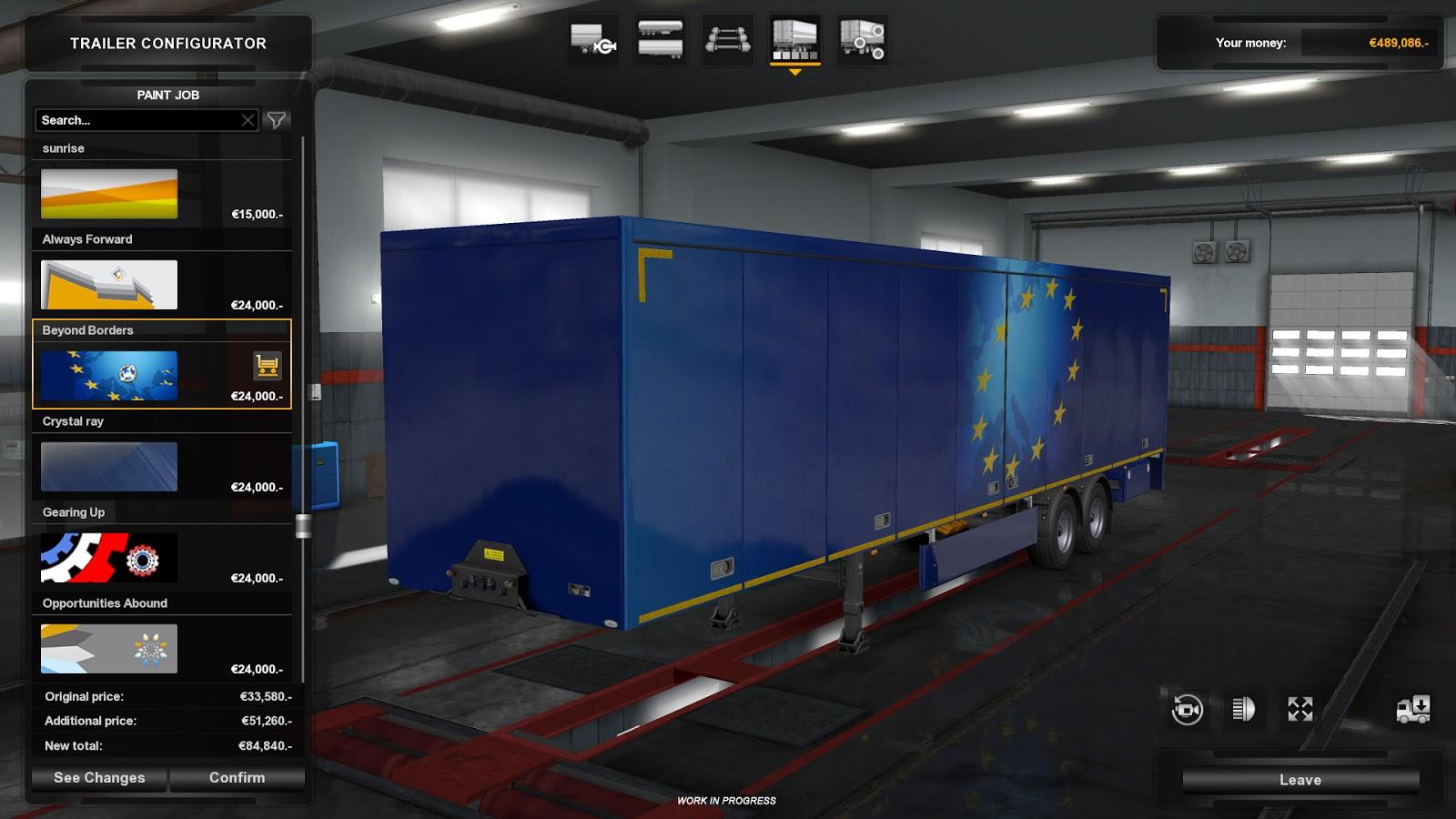 ets2 update appetizer trailer ownership ets2 mod. Black Bedroom Furniture Sets. Home Design Ideas