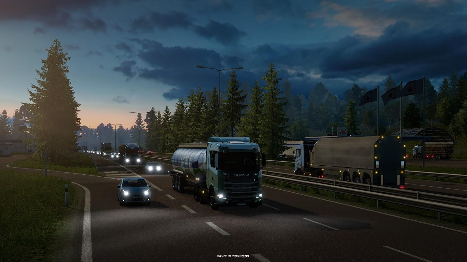 Euro truck simulator 2 update