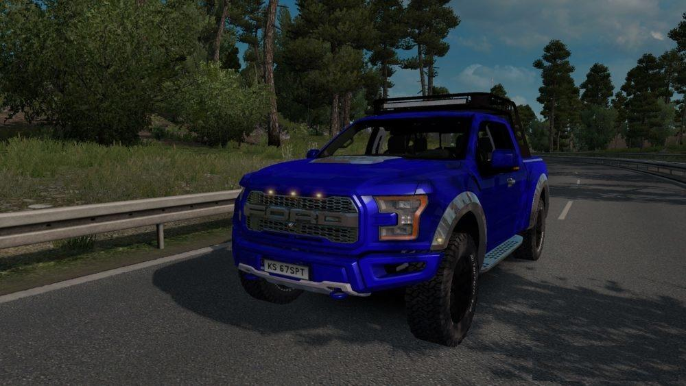ford f150 raptor 2017 v1 5 car mod ets2 mod. Black Bedroom Furniture Sets. Home Design Ideas