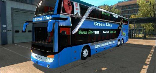 Salon Dt431 Bus - ETS2 Mods   Euro Truck Simulator 2 Salon
