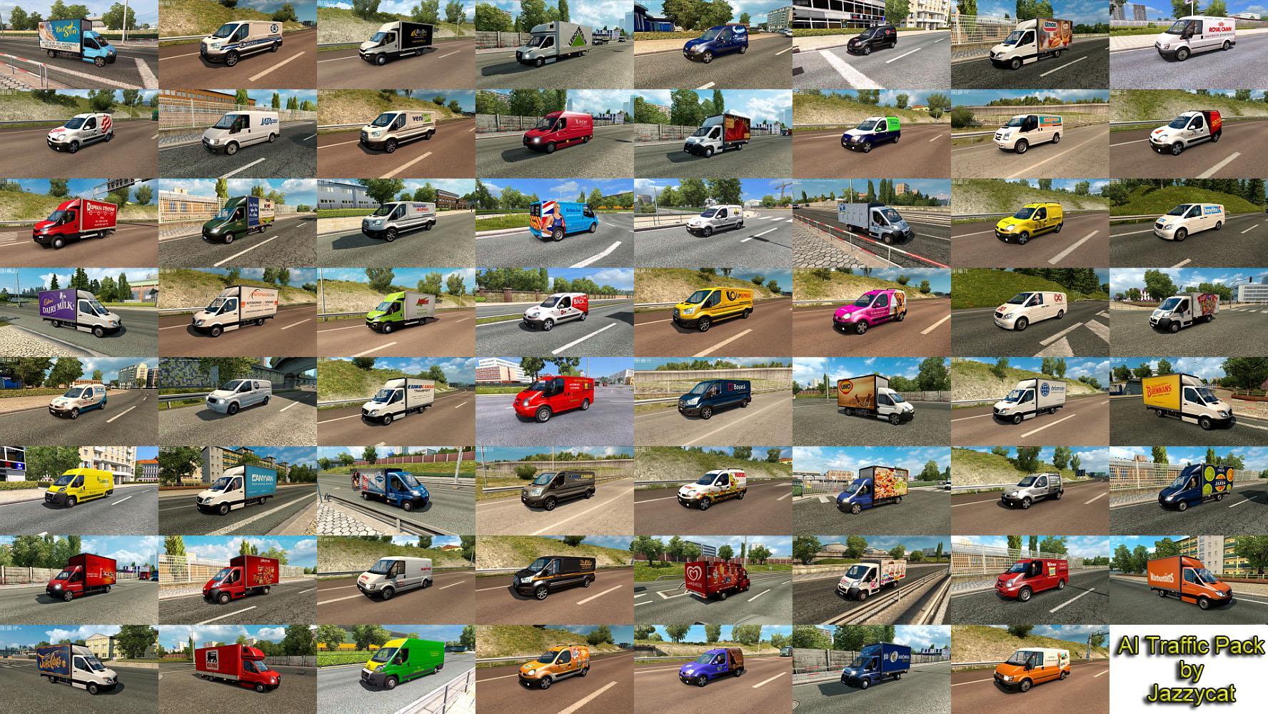 Ai Traffic Pack By Jazzycat V8 6 Mod Ets2 Mod