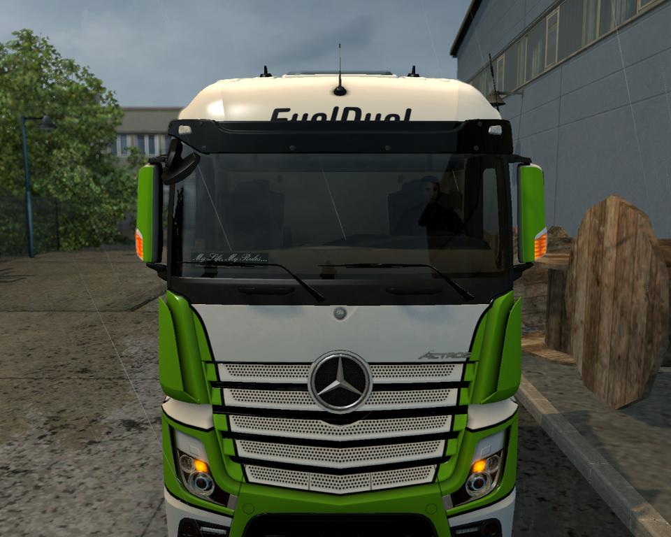 mercedes actros mp4 turn signals on the mirrors. Black Bedroom Furniture Sets. Home Design Ideas