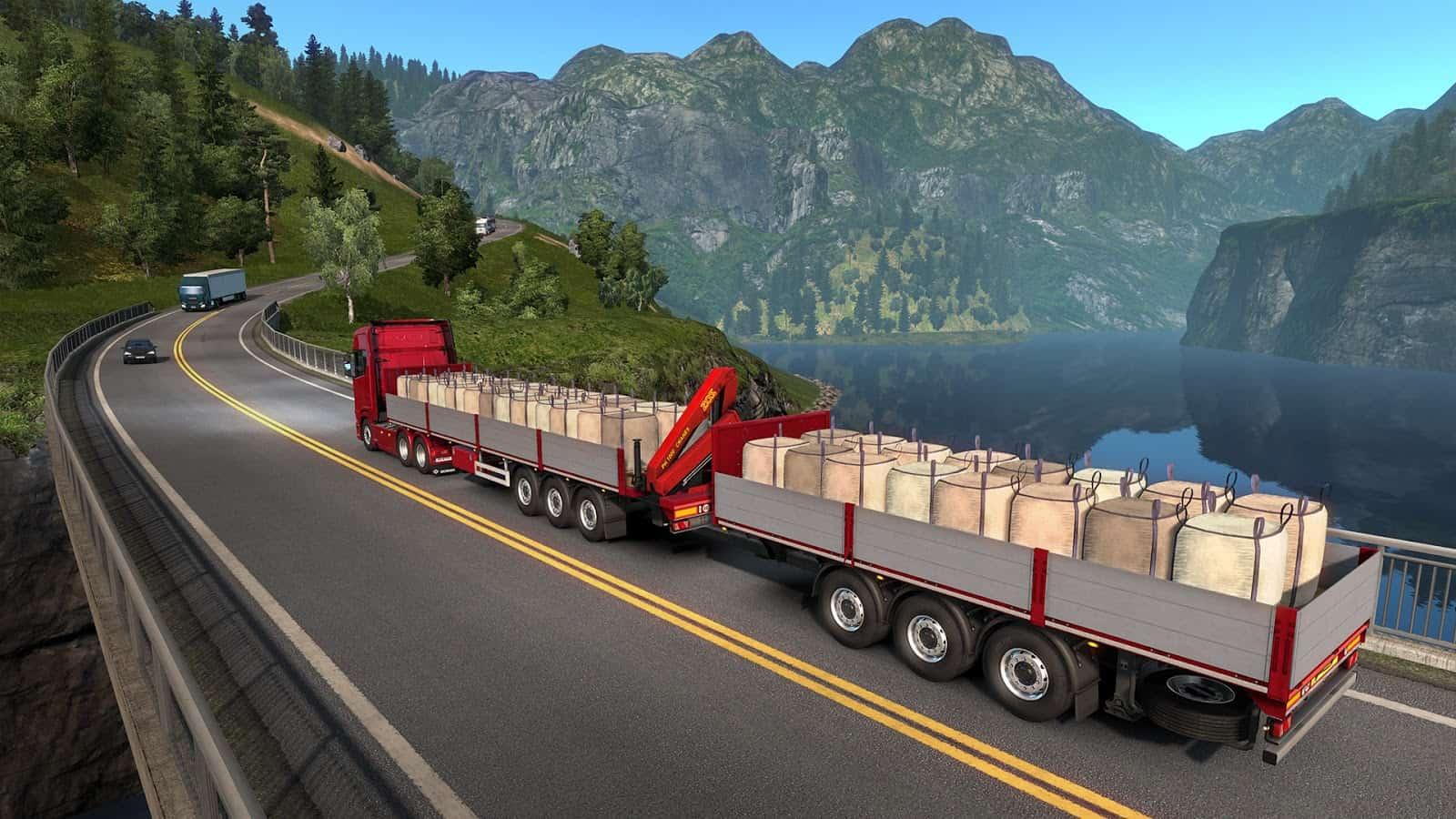 euro truck simulator 2 update open beta ets2 mod. Black Bedroom Furniture Sets. Home Design Ideas