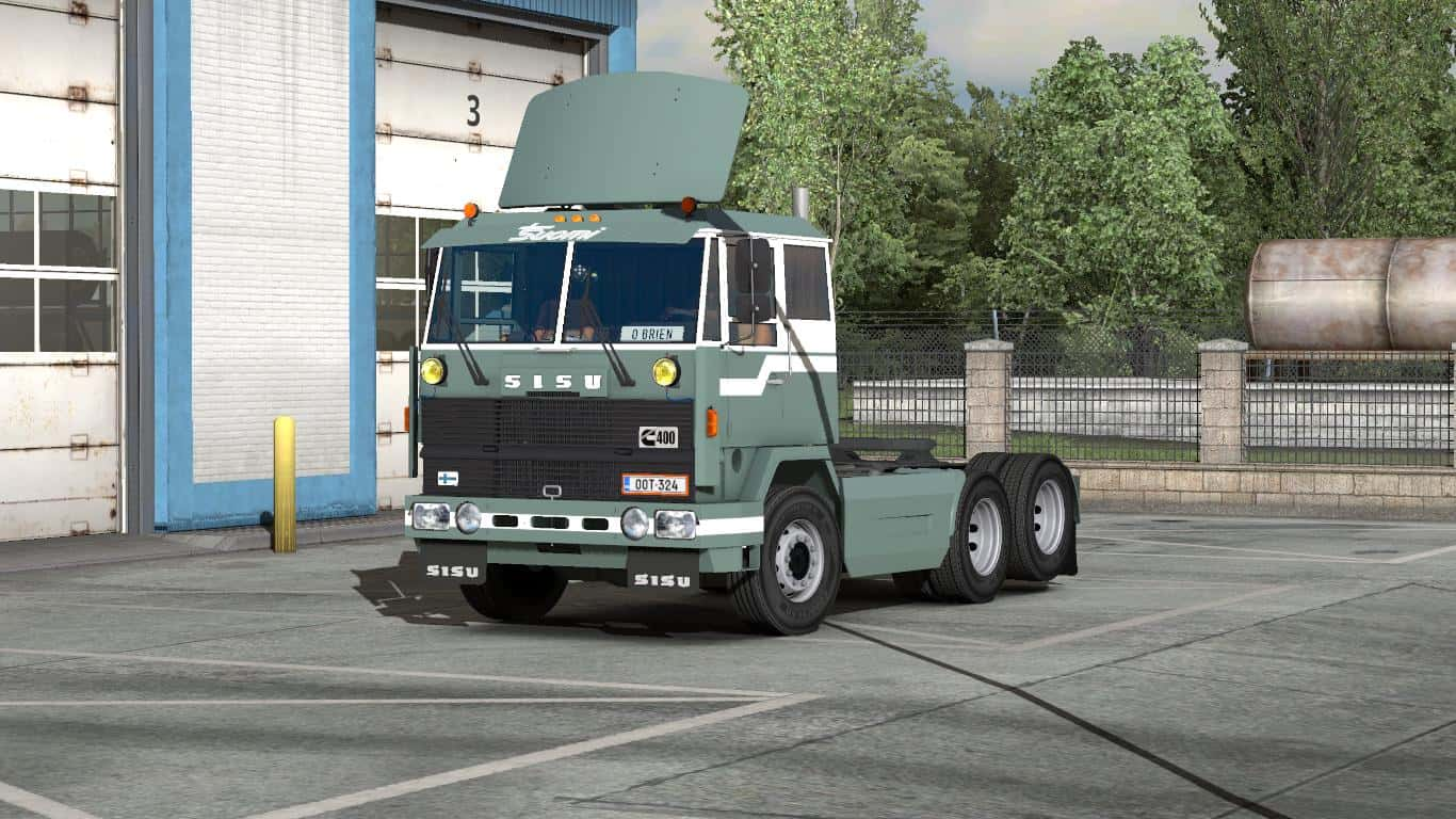 Seat Skins For Trucks >> SISU M-SERIES + INTERIOR V1.1 1.33.X TRUCK MOD - ETS2 Mod