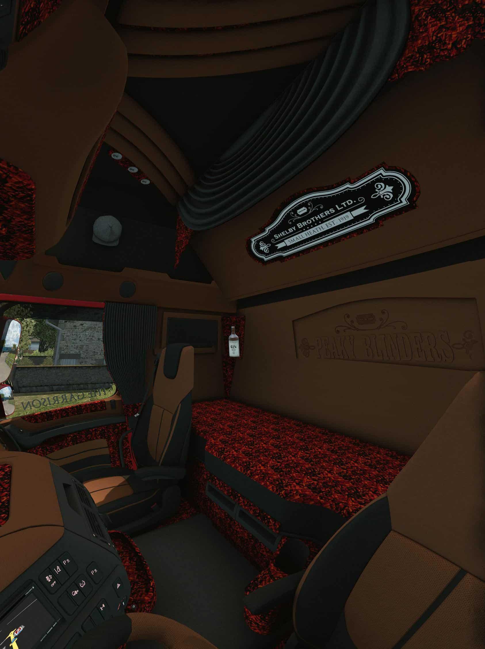 Daf Weeda Transport Amp Trailer 1 34 Pack Ets2 Mod