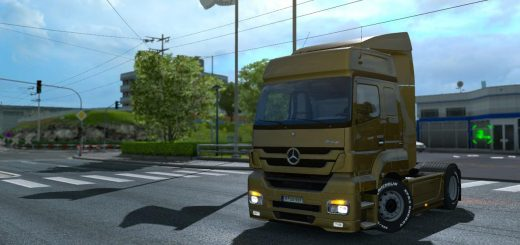 MERCEDES BENZ ACTROS MP4 MODIFIED V2 0 TRUCK - ETS2 Mod