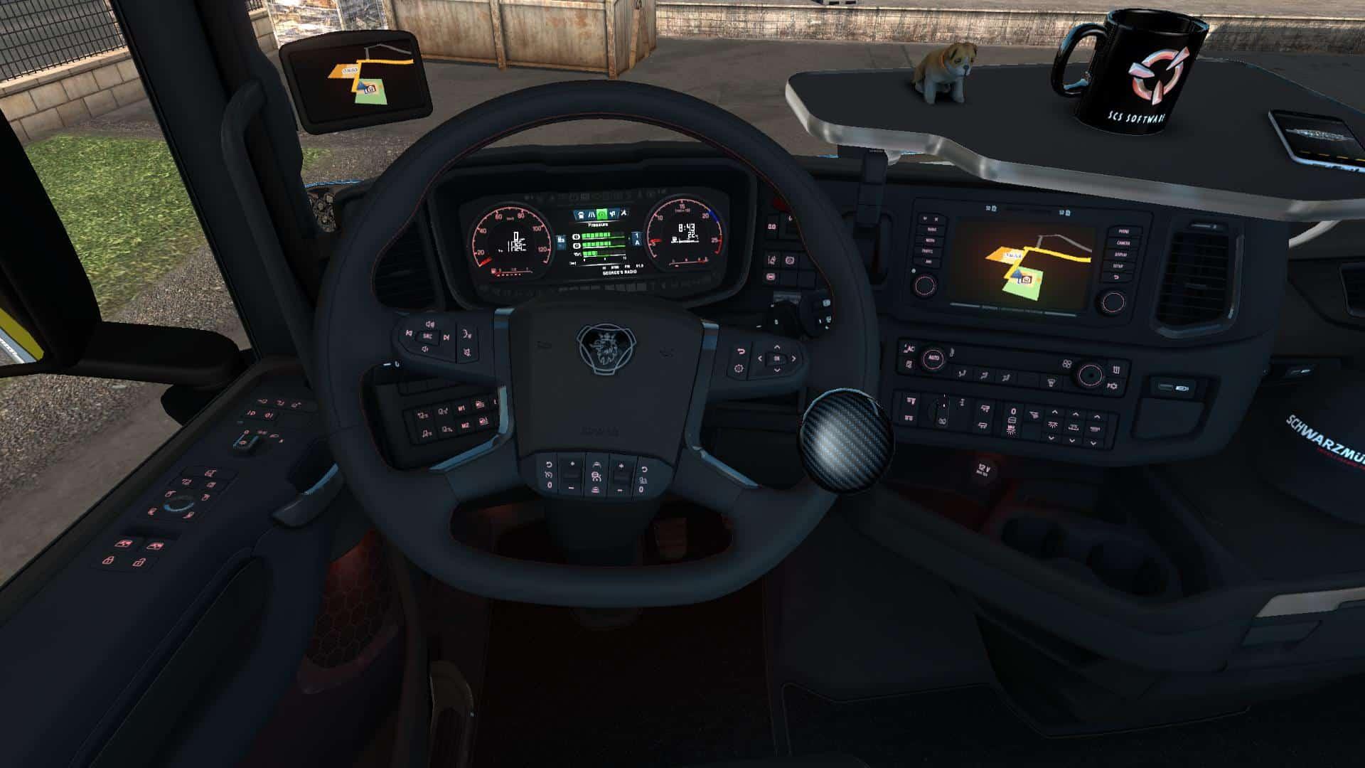Scania 2019 Interior