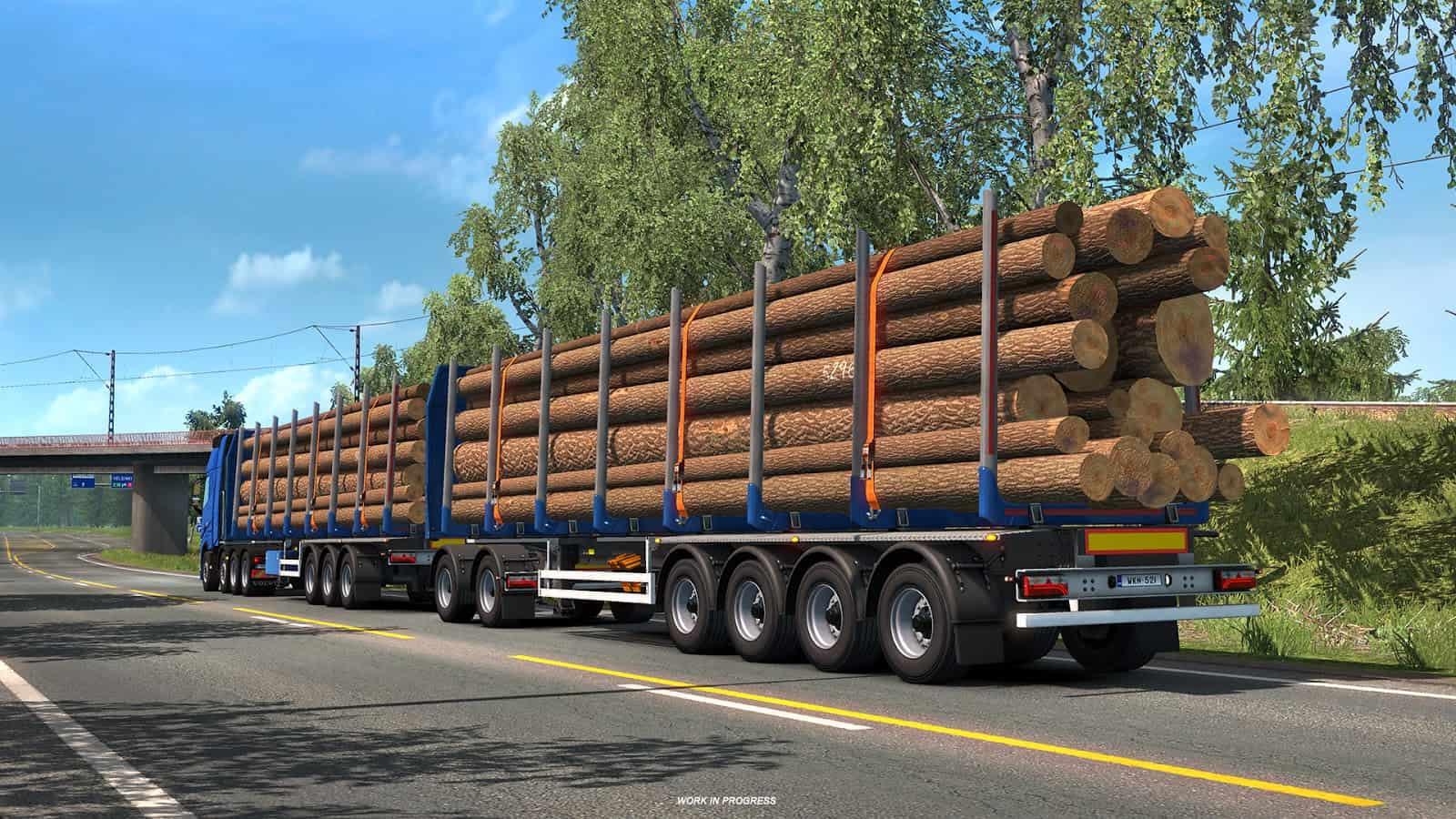 trailer news part 2 euro truck simulator 2 ets2 mod. Black Bedroom Furniture Sets. Home Design Ideas