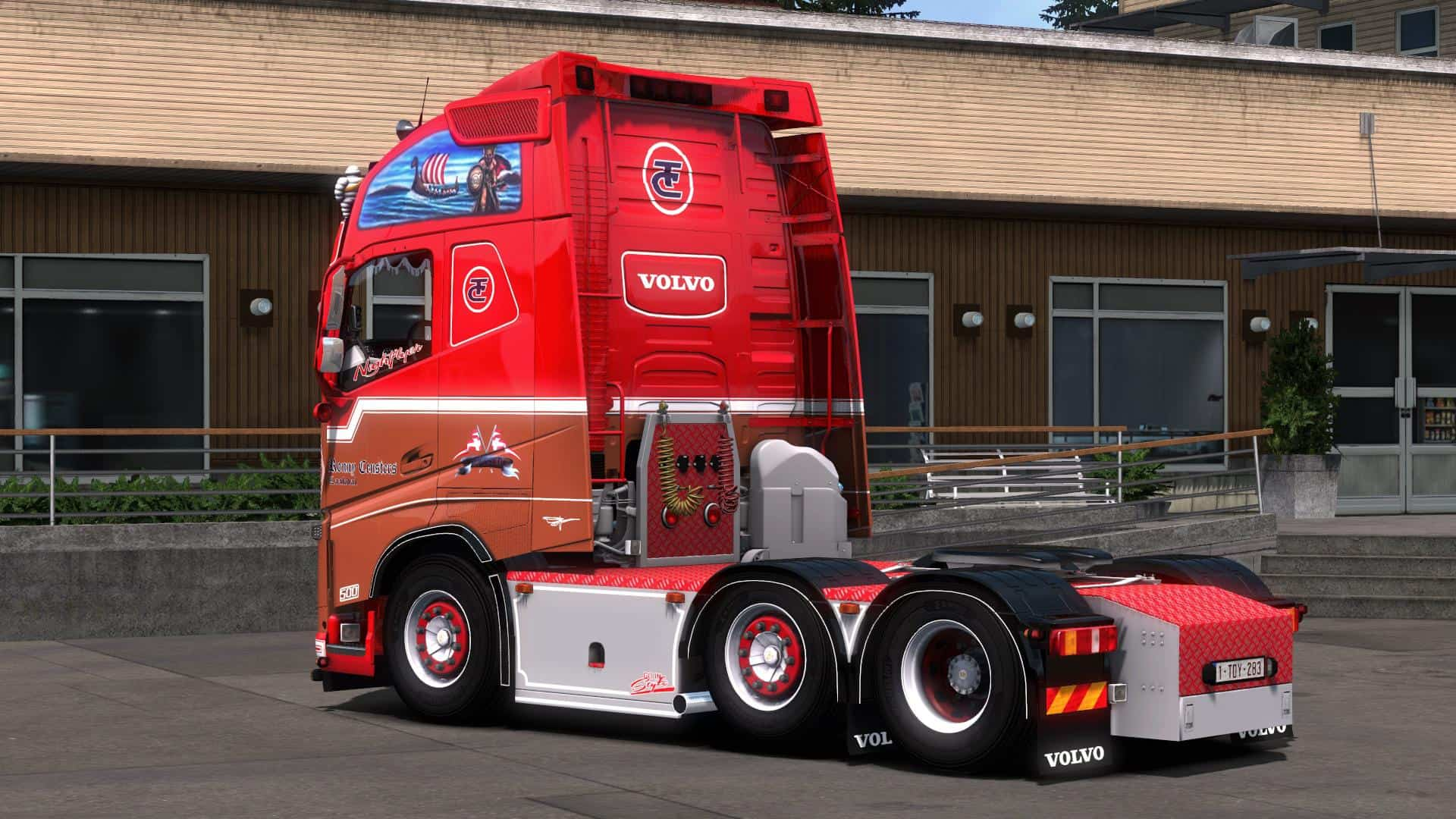 Ronny Ceusters Volvo Fh16 540 1 35 X Truck Ets2 Mod
