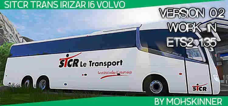 IRIZAR I6 - SKIN STCR - ETS2 1 34 & 1 35 MOD - ETS2 Mod