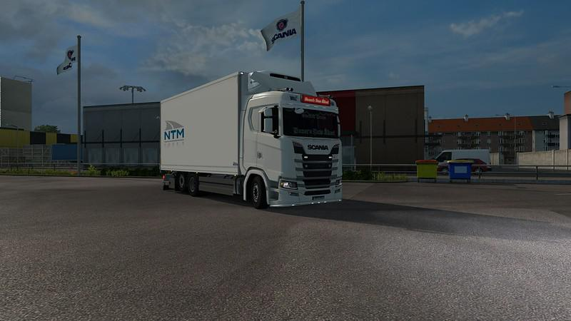 TANDEM ADDON FOR NEXT GEN SCANIA BY SIPERIA ETS2 - ETS2 Mod