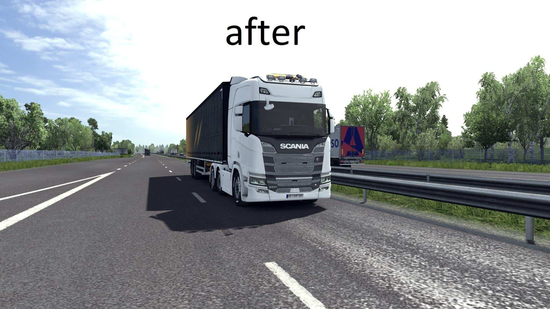 RESHADE PRESET FOR ETS2 USING NATURALUX BY MC2ROK V0 2 MOD - ETS2 Mod
